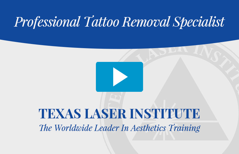 Certified tattoo removal specialist for Laser tattoo removal certification